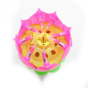 Birthday Blossom Flower Candle - TEROF