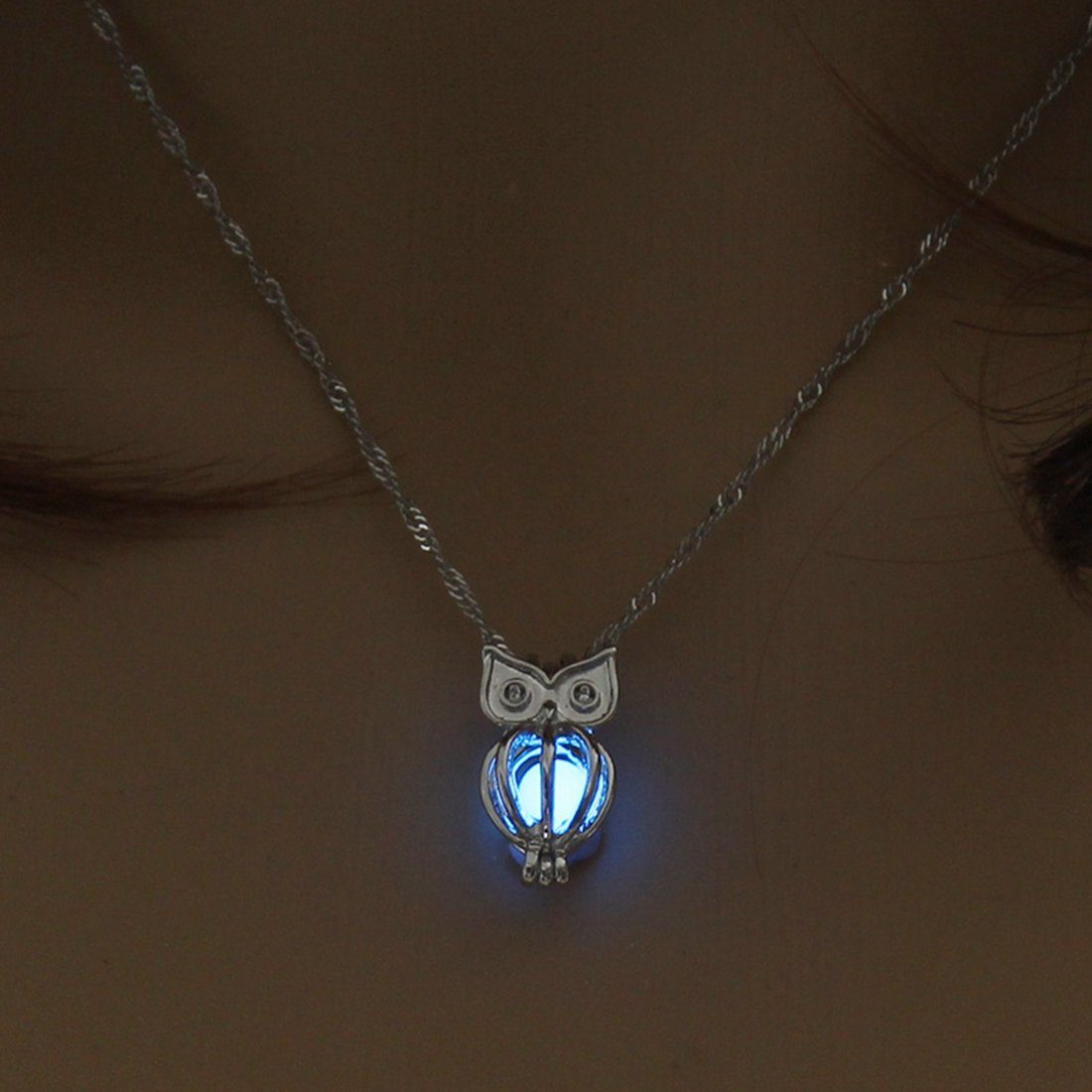 Elegant Owl Necklace - TEROF