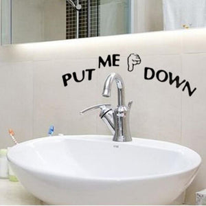 Put Me Down Sticker - TEROF
