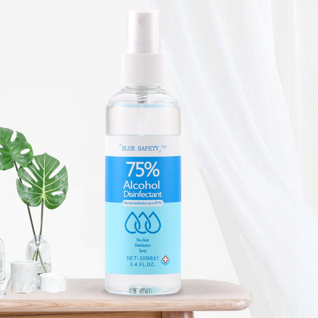 BLUE SAFETY™ 100ml Hand Sanitizer Antibacterial Disinfection Spray - hand sanitizer - Gaghy.com