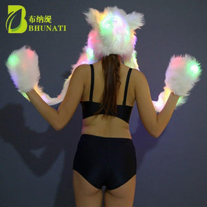 LED Fur Hood - TEROF