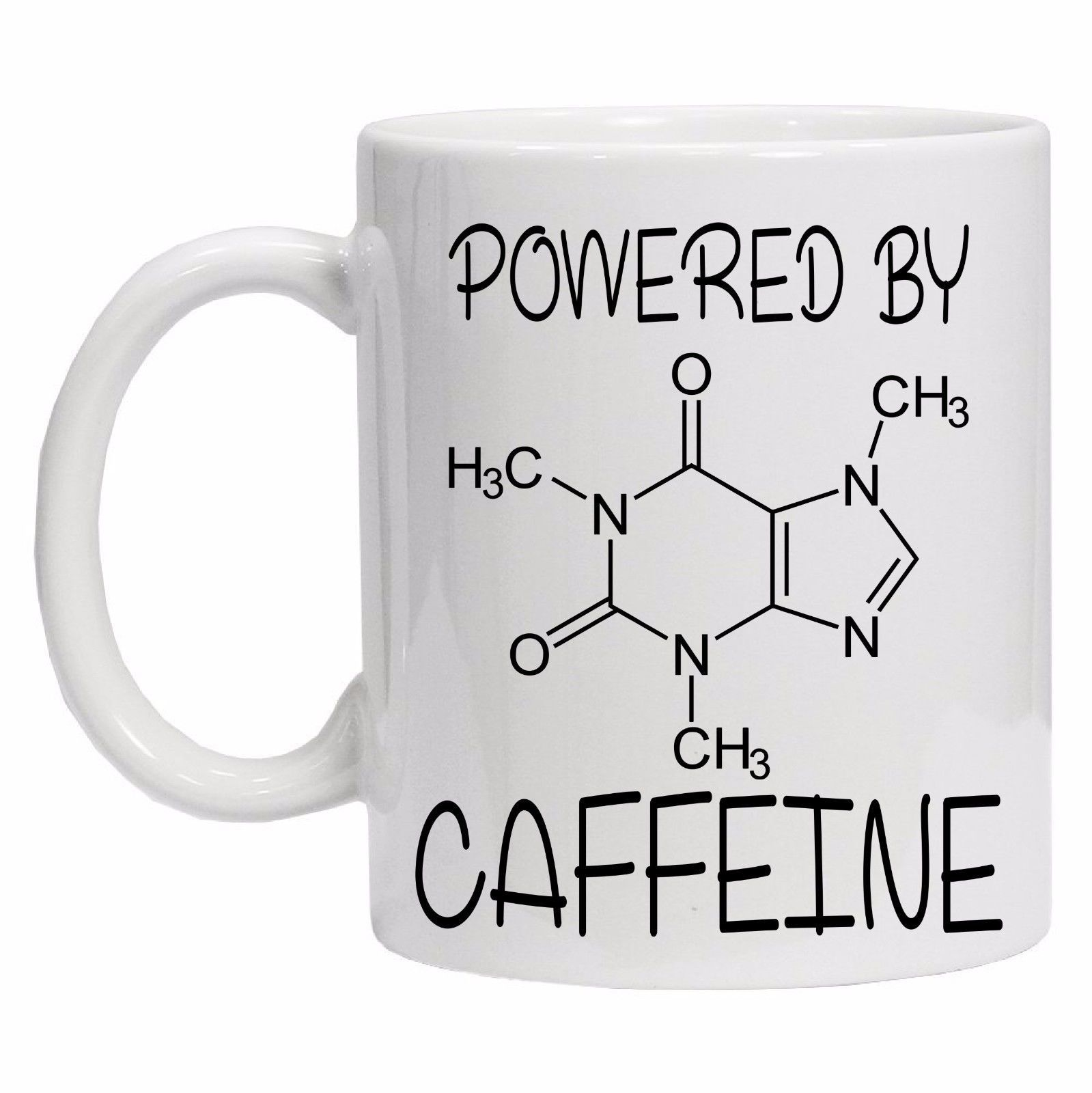 Powered By Caffeine Mug - TEROF