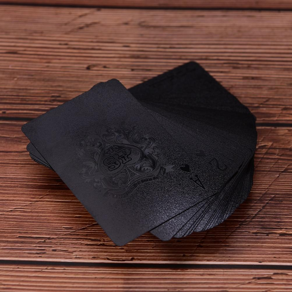 Matte Black Paying Cards Deck - TEROF