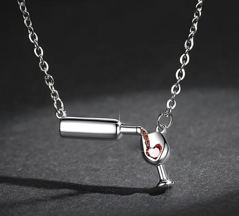 Wine Lover Necklace - TEROF