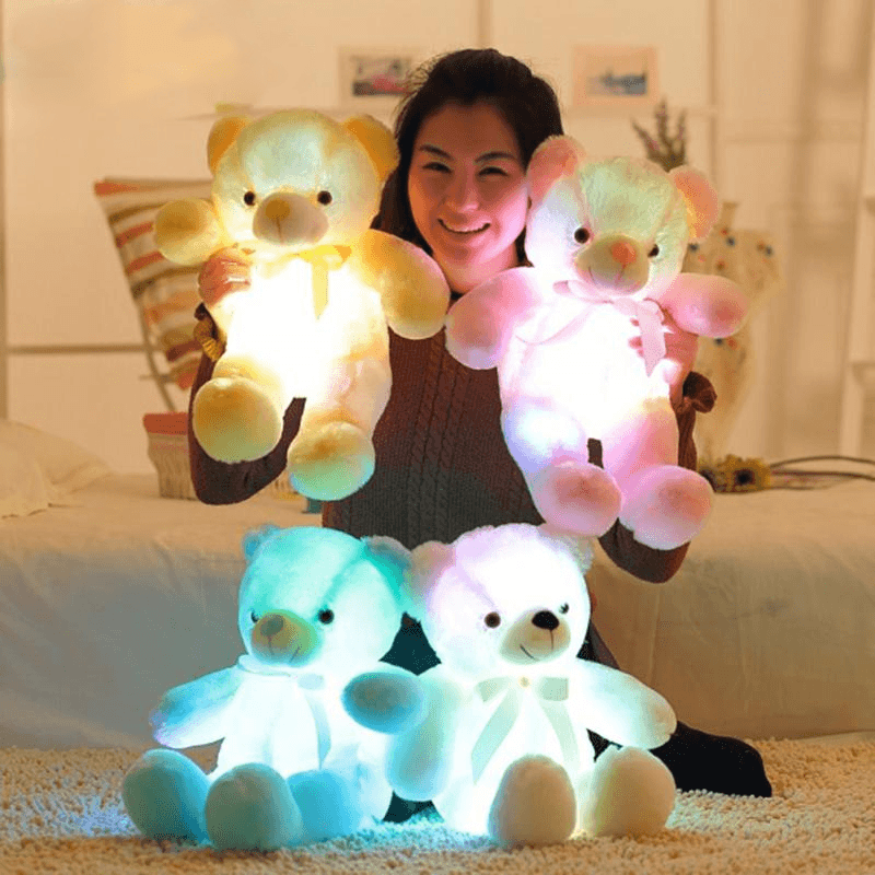 Light Up LED Teddy Bear - TEROF