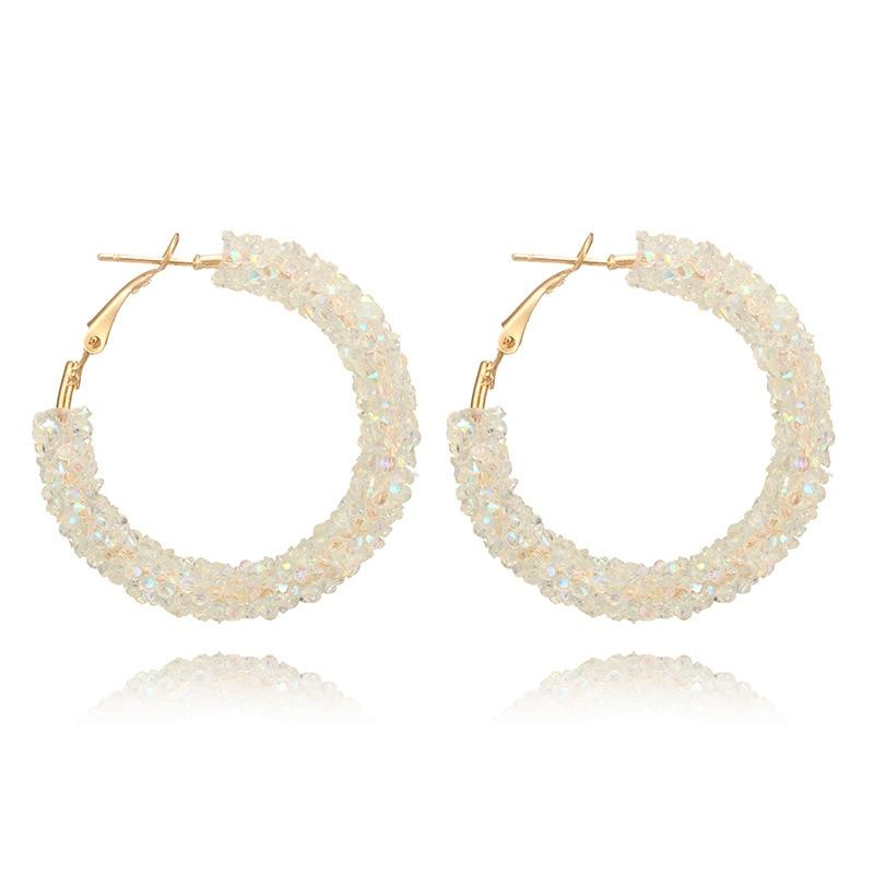 Crystal Hoop Earrings - TEROF
