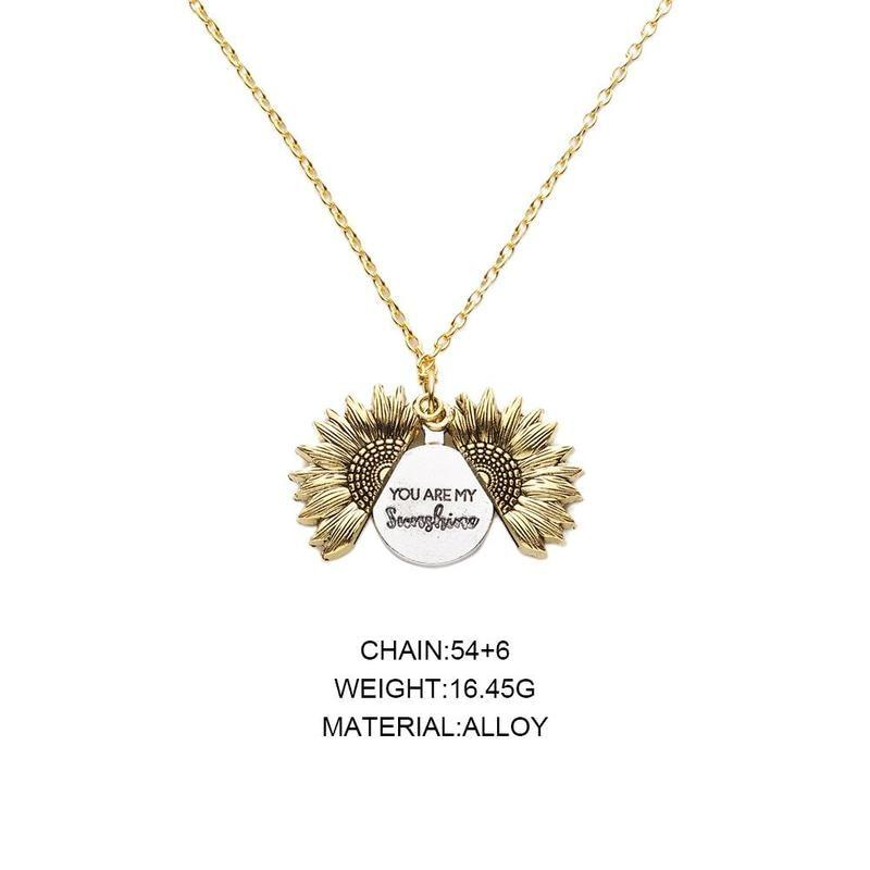 Sunflower Necklace - TEROF