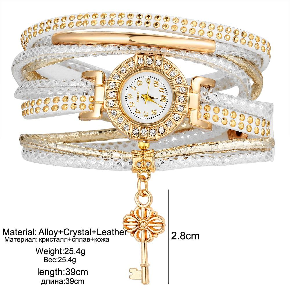 Fashion Crystal Lock Watch - TEROF