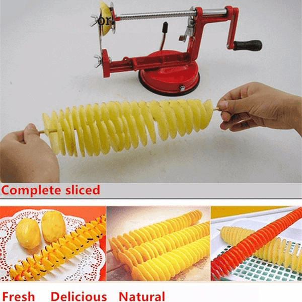 Manual Potato Spiral Machine - TEROF