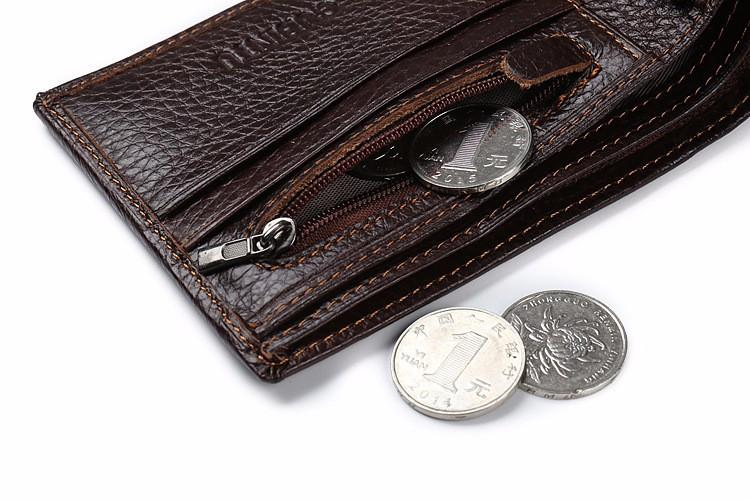 2017 Vintage Men Genuine Cow Leather Wallet - women bags - Gaghy.com