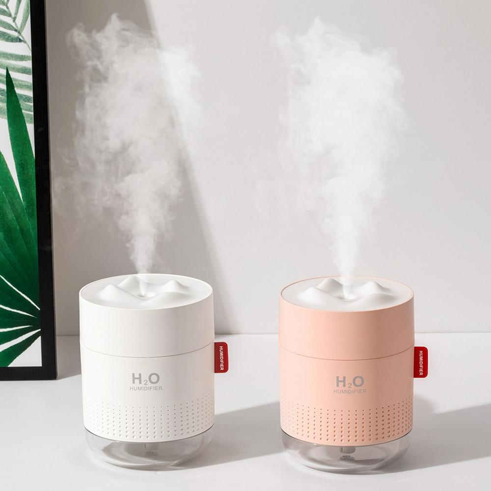 Portable Ultrasonic Humidifier 500ML Snow Mountain H2O USB Aroma Air Diffuser - Humidifier - Gaghy.com