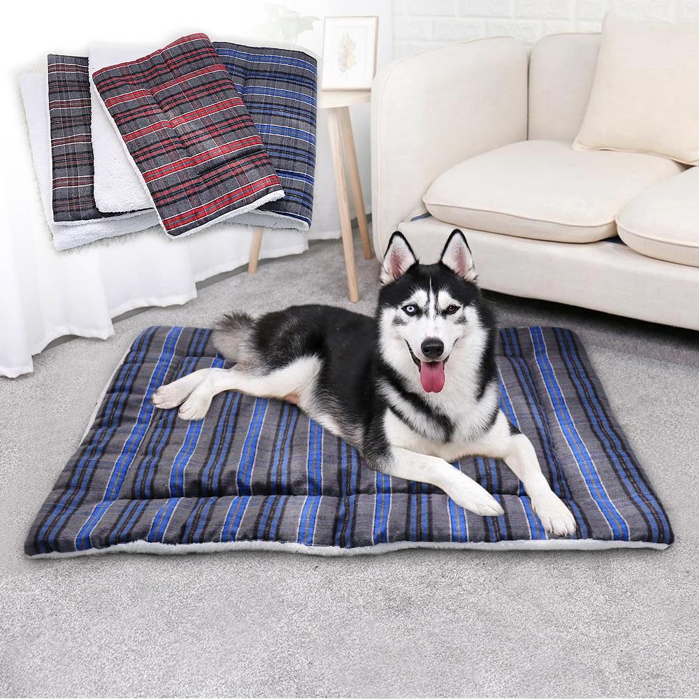 Cotton Pet Cushion Soft Dog Bed
