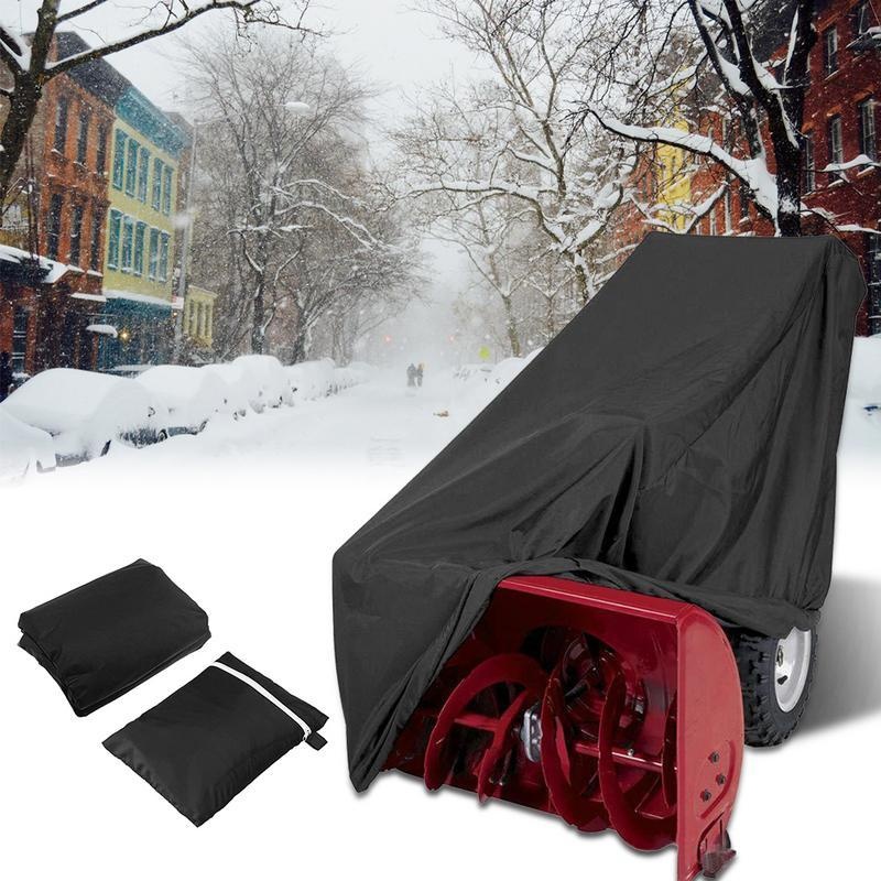 Windproof Snow 300D Durable Polyester Fabric Snow Cover - Snow Blowers Cover - Gaghy.com