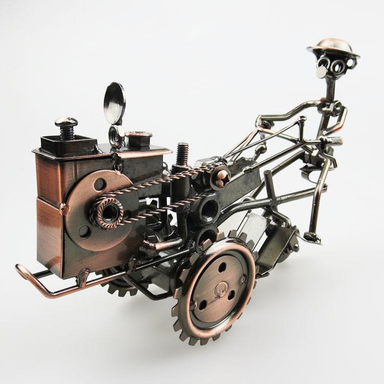 Garden Decoration Vintage Retro Iron Tractor - antuques - Gaghy.com