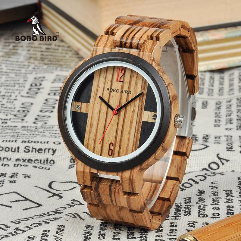 BOBO BIRD Wood Watch Men Relogio Masculino Luxury Design Quartz - watches - Gaghy.com
