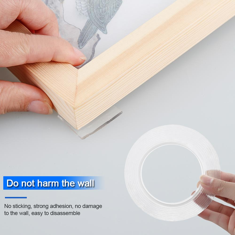 Reusable Double-Sided Adhesive Multi Function Magic Nano Grip Tape - Magic Tape - Gaghy.com
