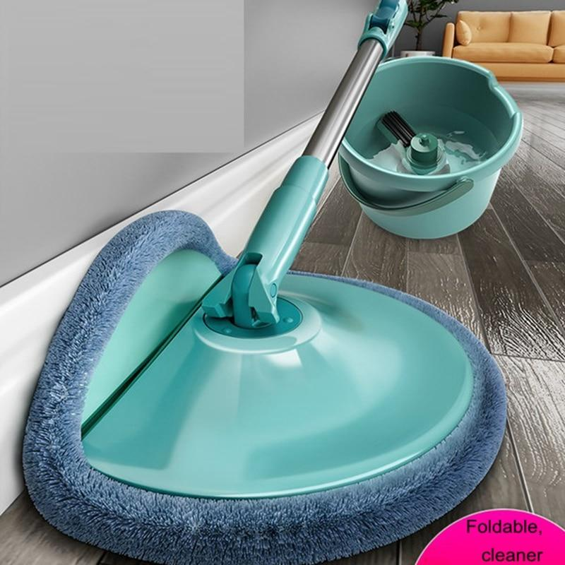 Magic Floor Mop 360 Bucket Microfiber Floor Cleaner