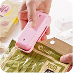 Portable Heat Sealer Plastic Package Storage Bag Mini Sealing Machine