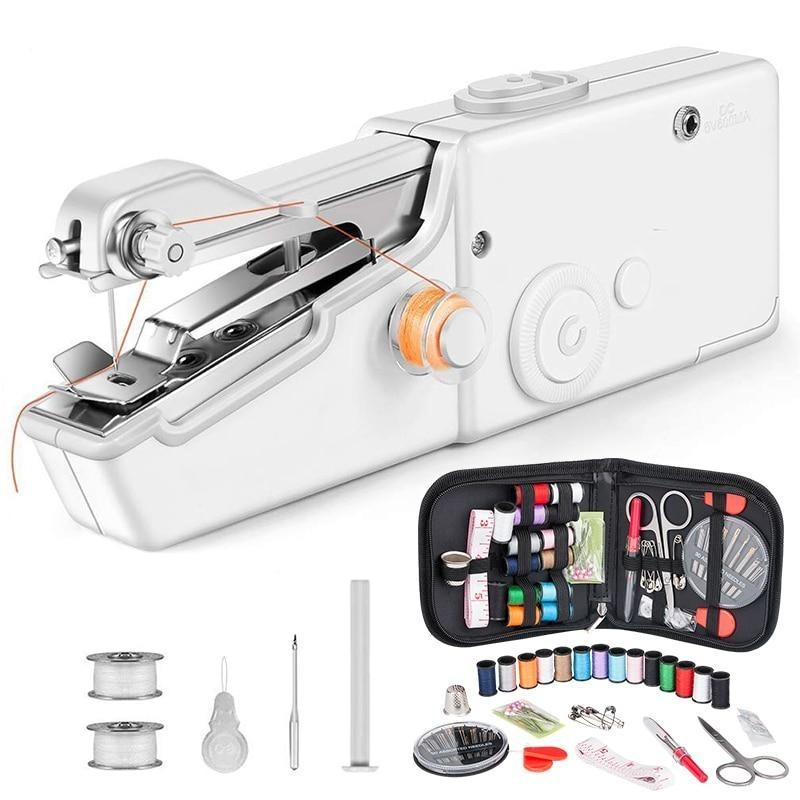 1Set Portable Handheld Sewing Machine Quick Stitch