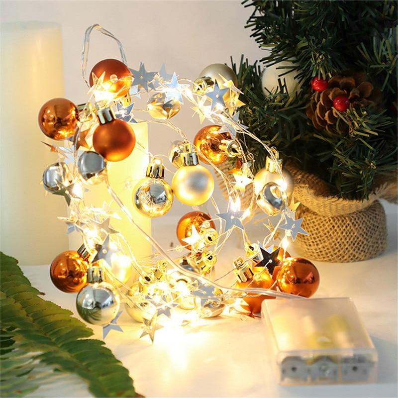 LED String Light Christmas Decorations Garland Fairy Lights Ornaments