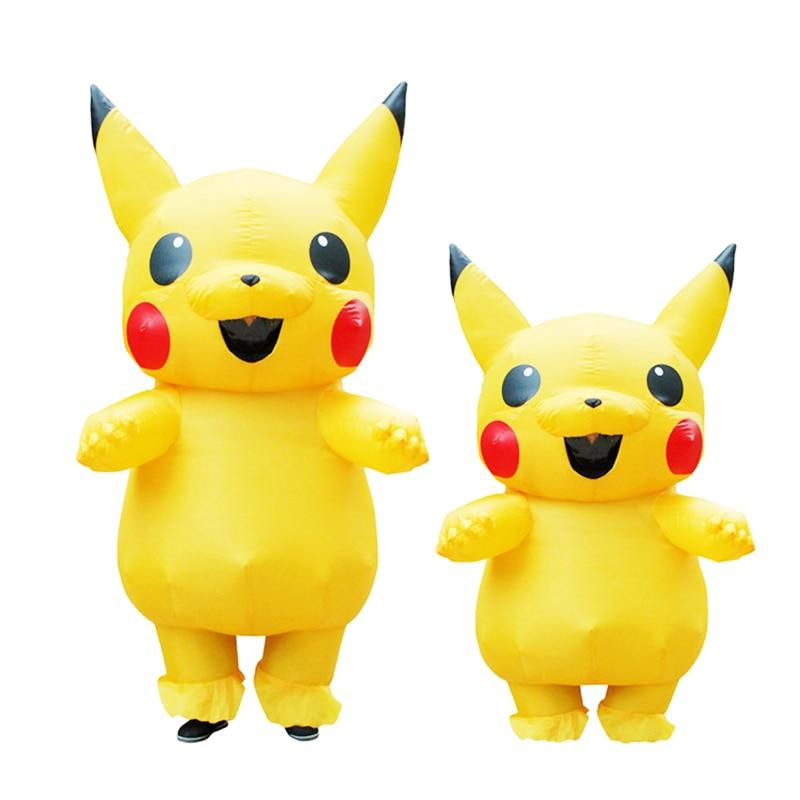 inflatable pikachu pokemon halloween costumes