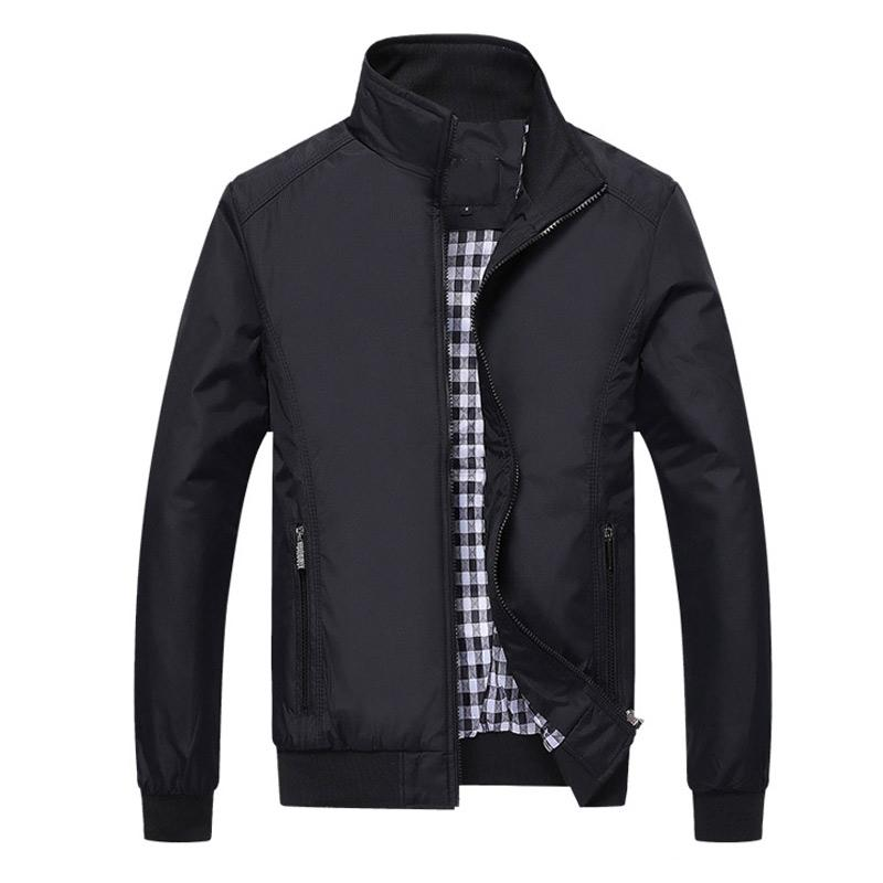 Casual Sportswear Bomber Jacket - Men Clothing - Gaghy.com