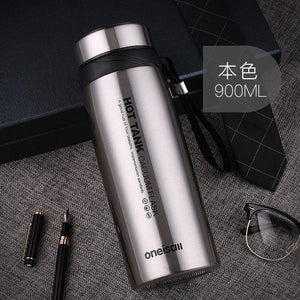 900ml Thermal Vacuum Flask Heat Water Tea Mug - flask - Gaghy.com