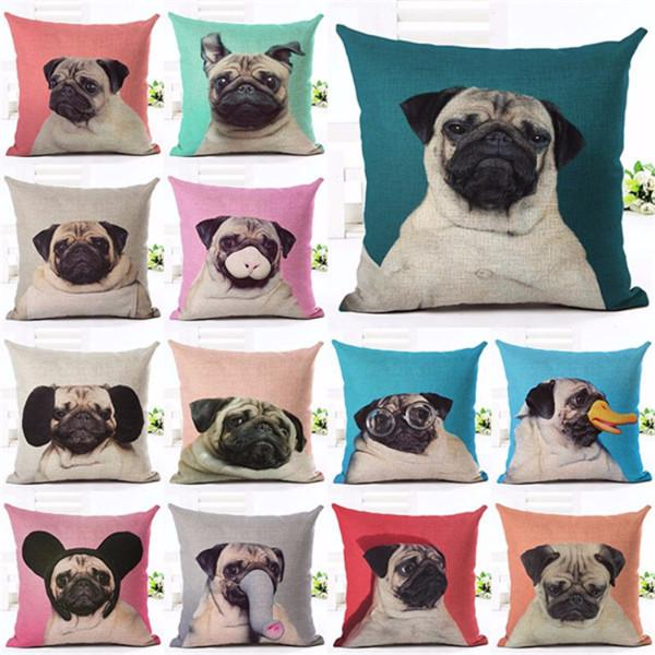 Zipper Top Quality Animal Series 3D Pillow Case - pillow - Gaghy.com
