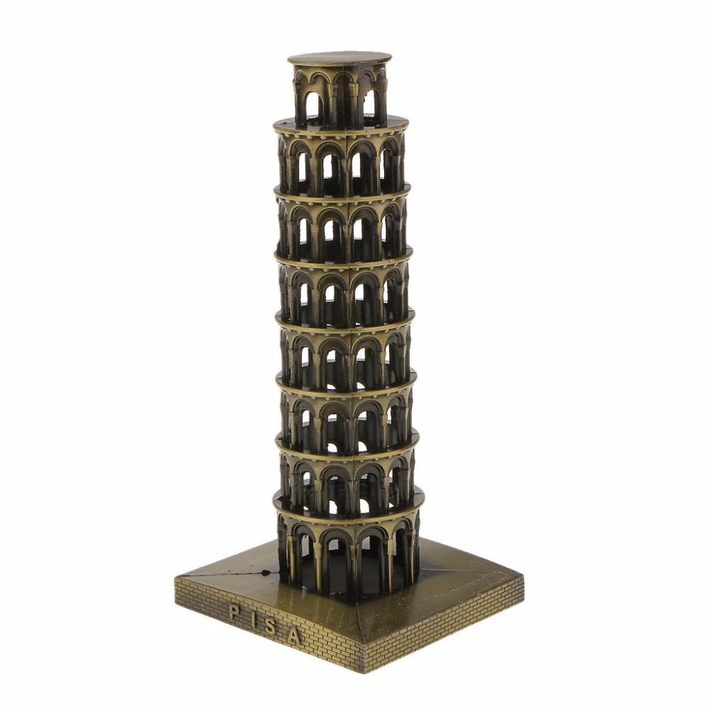 "NEO 16cm(6.3"")Retro Metal Italy The Leaning Tower of Pisa - antiques - Gaghy.com"