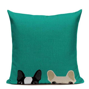 boston terrier Cushion Pillow Case - pillow cover - Gaghy.com