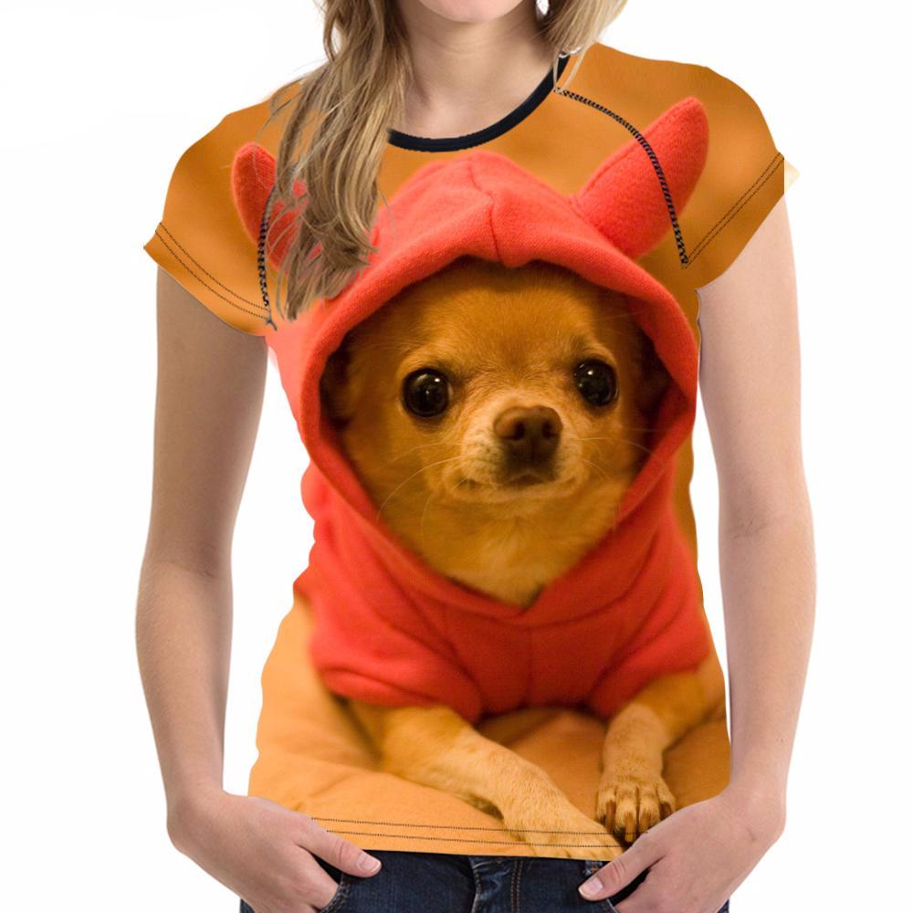 YourPet 3D printed T-shirts for Women - women clothing - Gaghy.com