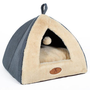 Pets Small House Soft Beds - pets bed - Gaghy.com