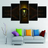 HD Printed Wall Modular 5 Panel Angel Wings - wall art - Gaghy.com
