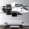 5 Panels Music DJ Console Wall Art Canvas - wall art - Gaghy.com