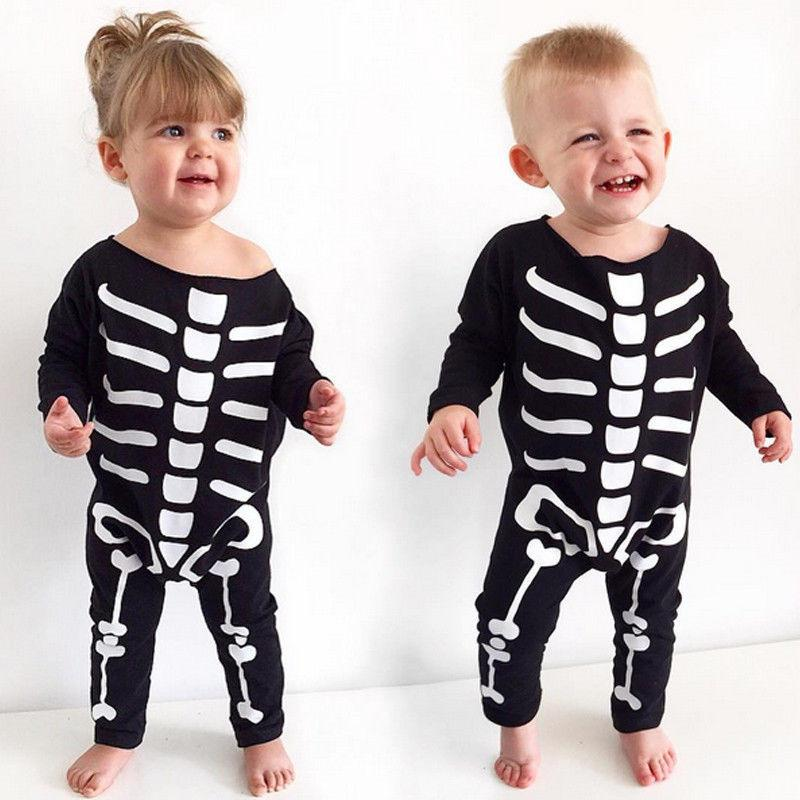 Halloween Children's Skeleton Romper - halloween - Gaghy.com