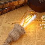 Single/Double Head Retro Vintage Rope Pendant Light Lamp - decor - Gaghy.com