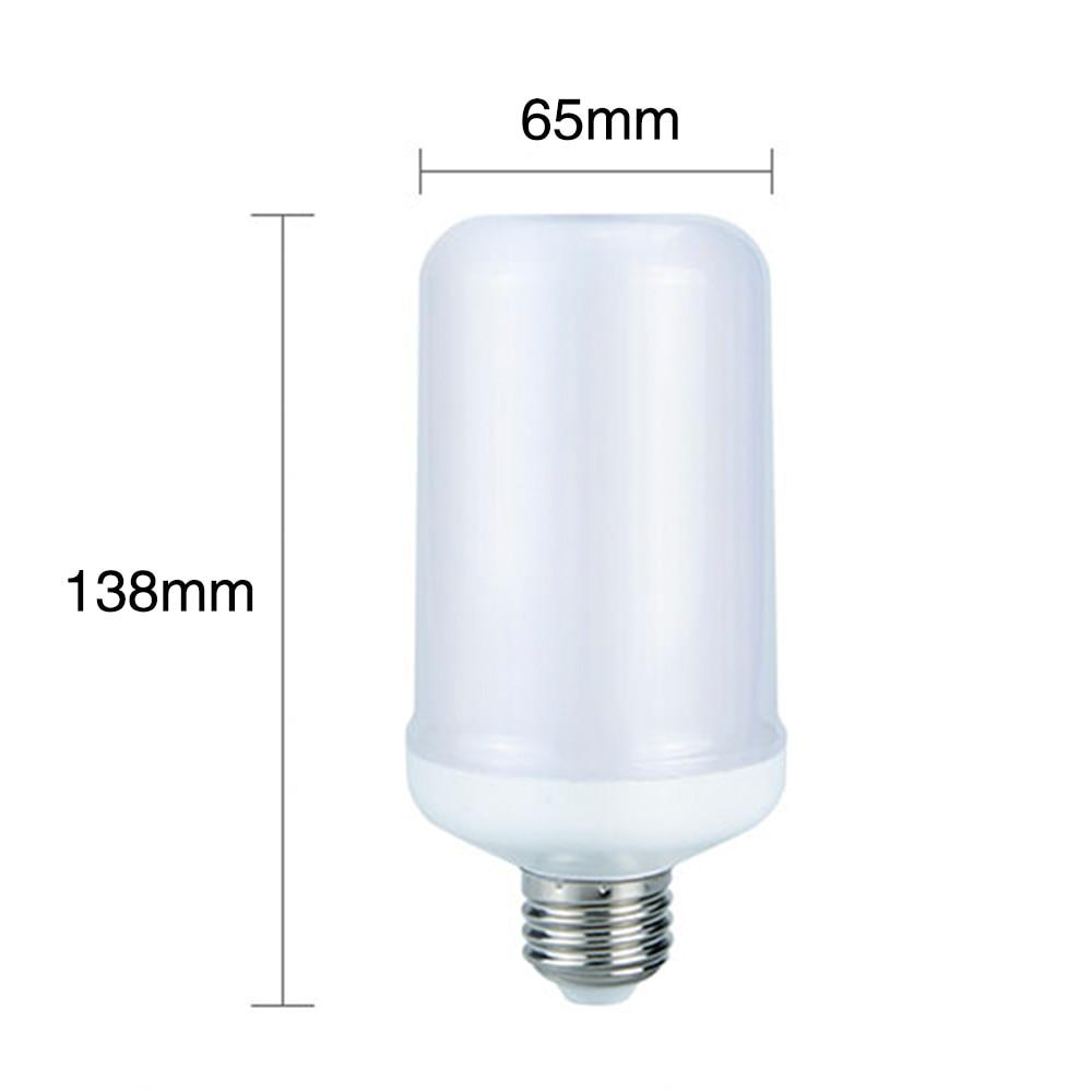 Gaghy™ LED Flame Effect Flickering Fire Light Bulb with Gravity Sensor Candelabra Base E12 - Gaghy LED Flame Effect Bulb - Gaghy.com