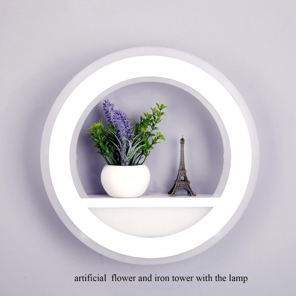 29W Wall Lamp Dimmable with Flower Tower Segment 2.4G RF Remote Control - led light - Gaghy.com