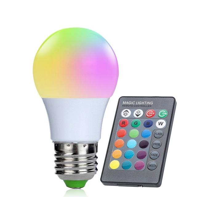 Gaghy RGB Hue lights 16 Color 24 key IR Remote Control - led light - Gaghy.com