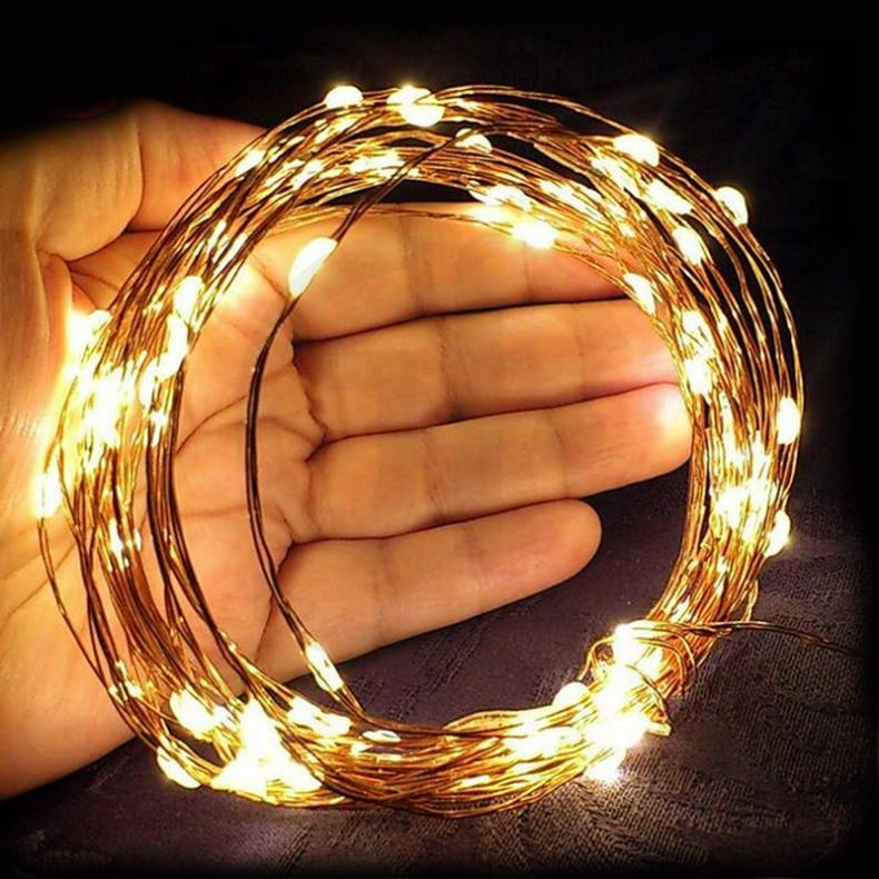 Copper Wire Waterproof LED String Light - led light - Gaghy.com