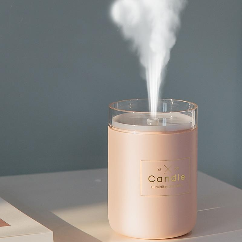 280ML Ultrasonic Air Humidifier Candle Romantic Aroma - Humidifier - Gaghy.com