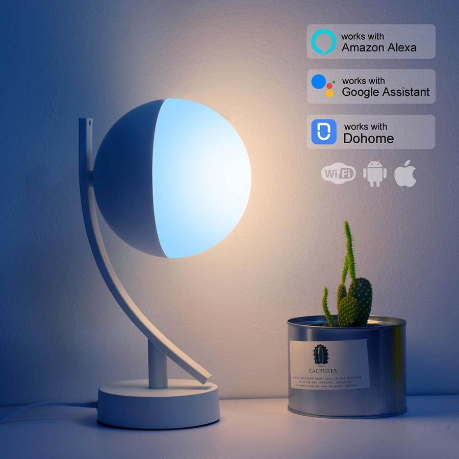RGB LED Desk Lamps Smart Voice Control works with Alexa Google Home - table lamp - Gaghy.com