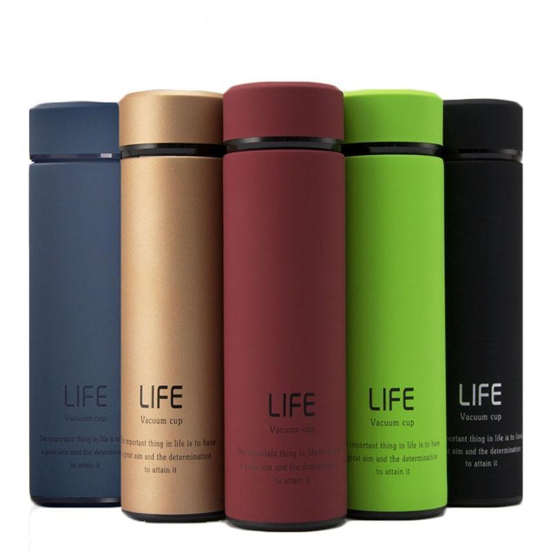 350ml Thermos Water Bottle Stainless Steel Vacuum Flask - kitchen - Gaghy.com