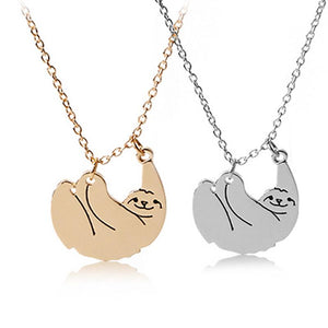 Sloth Wildlife Fashion Necklace - TEROF