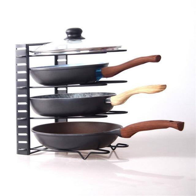 Adjustable Kitchen Storage Pot Rack - TEROF