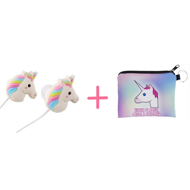 Cute Unicorn Headphones - TEROF