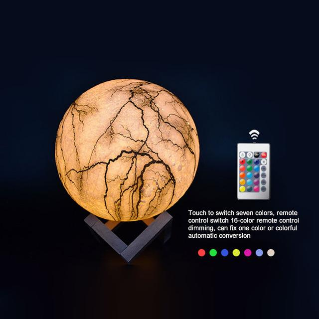 Cracked Moon Lamp - TEROF