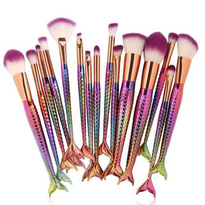 Mermaid Makeup Brushes - TEROF