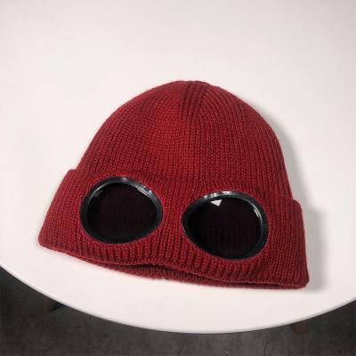 Knitted Hat With Glasses - TEROF