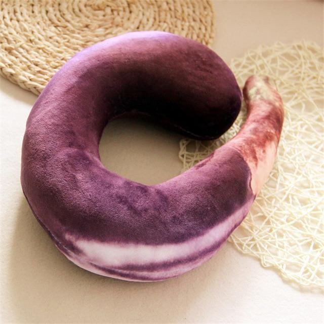Yum Food-Shaped Neck Pillow - TEROF